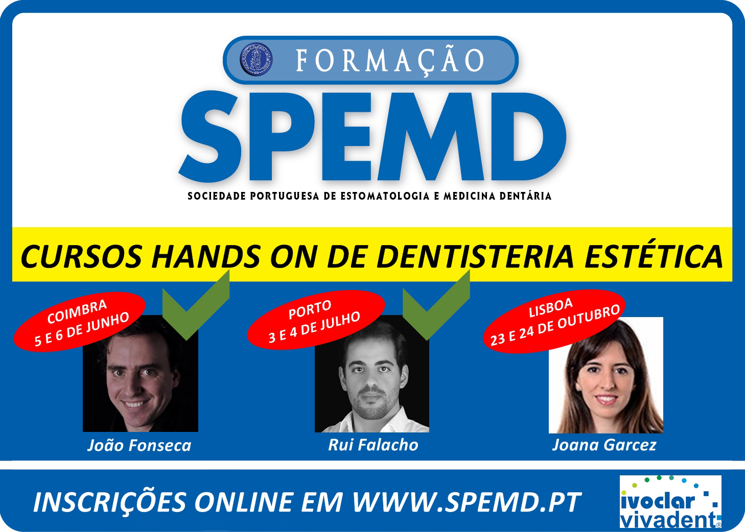 Cursos Hands-on de Dentristeria Estética