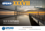 XXXVIII Congresso Anual da SPEMD - 2º dia